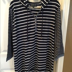 Women's Pus Size Sporty Pullover Top